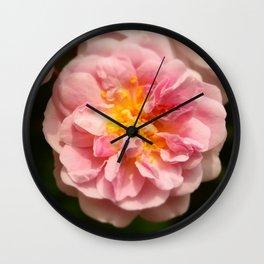 Rose heart / Coeur de rose. Wall Clock