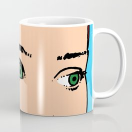 punk fashion, fashion art, fashion illustrations, Coffee Mug