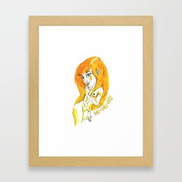 HU HU HU Framed Art Print