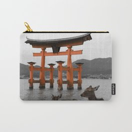 Deer on Miyajima Island Carry-All Pouch