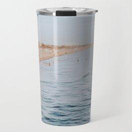 Santa Monica Beach, California Travel Mug