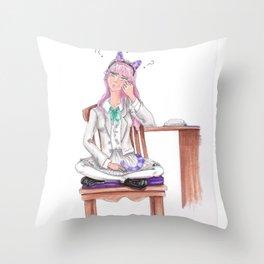 Joy Think Throw Pillow