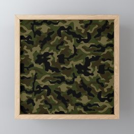 Camouflage Art3 Framed Mini Art Print