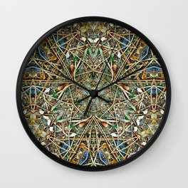 Hidden Beauty No:1 Wall Clock