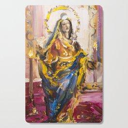 Sorrowful Mother Shrine Cutting Board