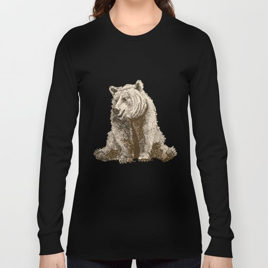 The lazy bear Long Sleeve T-shirt