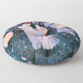 John Singer Sargent - Carnation, Lily, Lily, Rose Floor Pillow
