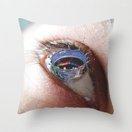 Droplet Like Its Hot Throw Pillow