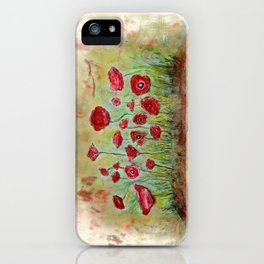 poppy island iPhone Case