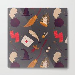 Magic Pattern Metal Print