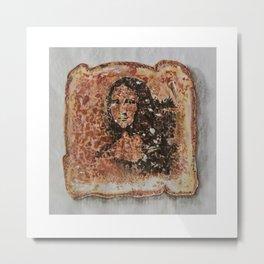 Burnt Sienna vs. Burnt Toast Metal Print