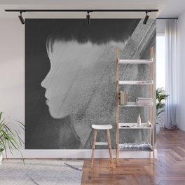 Faceless Charcoal Wall Mural