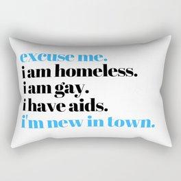 i'm new in town Rectangular Pillow