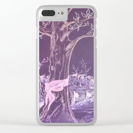 """""""Hope"""" Clear iPhone Case"""