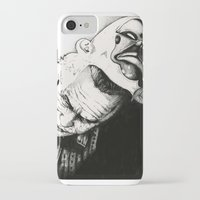 the joker iPhone & iPod Cases featuring Joker by Sinpiggyhead