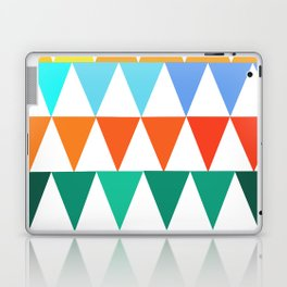 Triangles of Color Laptop & iPad Skin