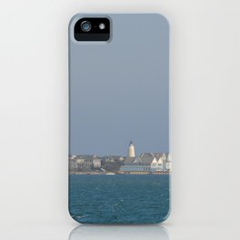 Ocracoke Island from the ferry iPhone Case
