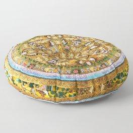 Buddhist Mandala 50 Buddhist Teachings Floor Pillow