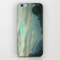 north carolina iPhone & iPod Skins featuring Carolina by Chuck Buckner