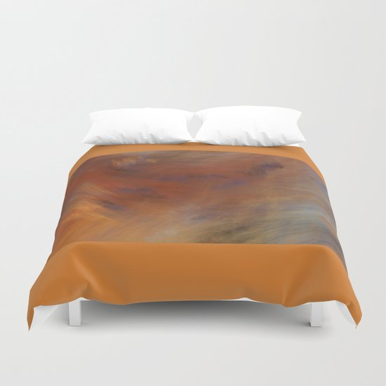 Storm in Space  (A7 B0230) Duvet Cover