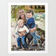 Swanzy Family Portrait Art Print