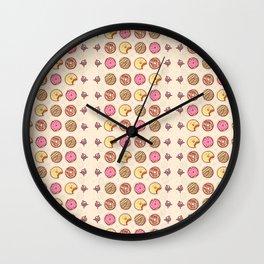 Donuts! Wall Clock