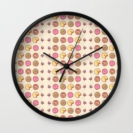 Donuts! Wall Clock