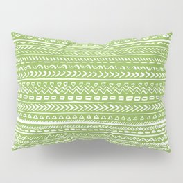 Tribal Greenery Pillow Sham