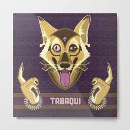 Tabaqui Metal Print