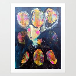 The Risk It Took To Blossom Art Print