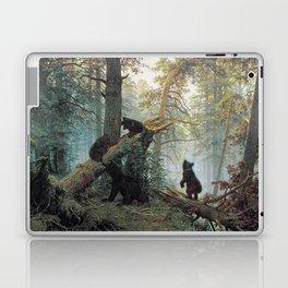 Shishkin Ivan Morning in a Pine Forest. Laptop & iPad Skin