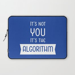 Social Media Algorithm Blues Laptop Sleeve