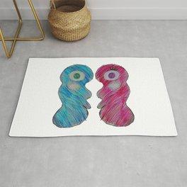 Love is   Be mine Valentine   Kids Painting Rug