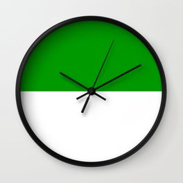Jzedlitz_Flag_of_duchy_Sachsen-Meiningen_1874-1918 Wall Clock