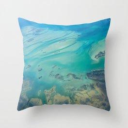 Bahamas Water Throw Pillow
