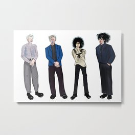 Siouxsie and the Banshees Metal Print