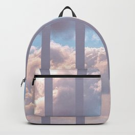 Striped Clouds Backpack