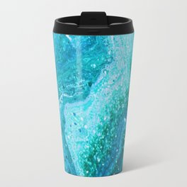 Blue Greenery Travel Mug