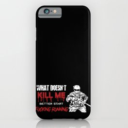 Soldiers T-shirt cool Bundeswehr soldiers T-shirt iPhone Case