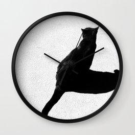 Silent Shadow Wall Clock