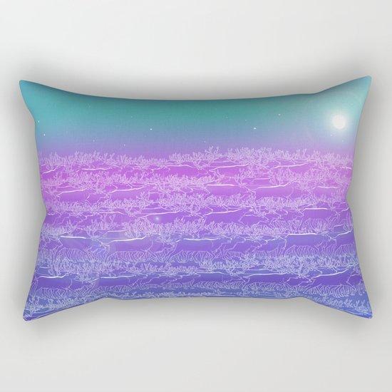 Polar Day Rectangular Pillow