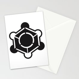 Crop circle design Stationery Cards