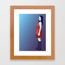 OLGA Framed Art Print