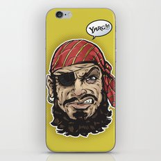 Yarg Pirate! iPhone & iPod Skin