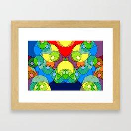Abstrakt 1 Framed Art Print