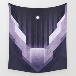 Dione - The Ice Cliffs Wall Tapestry