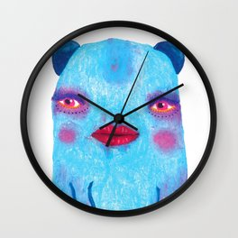 Some Of Us Are Born Fabulous Wall Clock