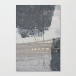 Brooklyn Bridge Abstraction III Canvas Print