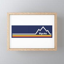 Alyeska Ski Resort Framed Mini Art Print