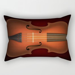 Straordinarius Stradivarius Rectangular Pillow